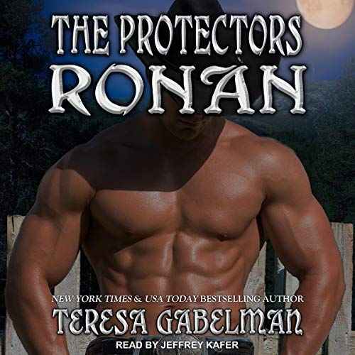 Ronan audiobook cover art