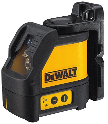 Dewalt DW088K-XJ 2 Way Self-Levelling Ultra Bright Cross Line Laser, 24.5cm x 23.5cm x 11.2cm, Black/Yellow