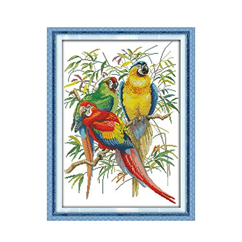For Sale! Artsy Gift Animal Series Cross Stitch Kit, 11CT 14CT Handmade Sewing Thread Fabric Cloth S...