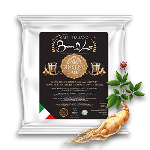 Ginseng Italian Coffee Bag 500 gr Soluble'Italian Coffee - Bocca della Verità'