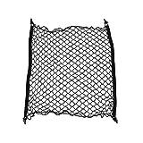 KongJies Red de carga para coche Red de carga flexible de nylon trasero de carga Portaequipajes Organizador Pet Barrier Net
