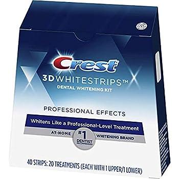 Crest 3D Whitestrips Professional White Teeth Whitening Kit 20 Treatments 20Count