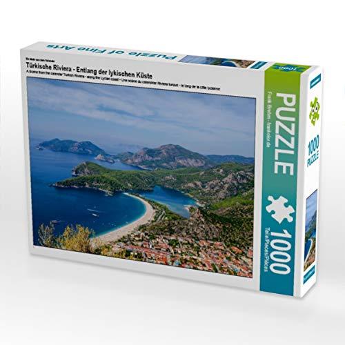 CALVENDO Puzzle Türkische Riviera - Entlang der lykischen Küste 1000 Teile Lege-Größe 64 x 48 cm Foto-Puzzle Bild von Frank Brehm