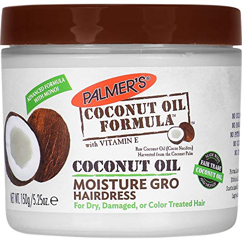 Palmer's Coconut Oil Formula Moisture Gro Hairdress Jar | 5.25 ounce