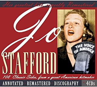 Jo Stafford: 108 Classic Sides from a Great American Hitmaker by JO STAFFORD (2008-01-08)