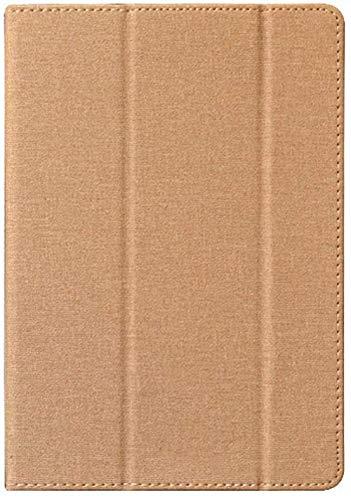 Zshion TECLAST M16用タブレット ケース スタンド機能付き 保護ケース 薄型 超軽量 全面保護型 三つ折高級スマートカバー (ゴールド)