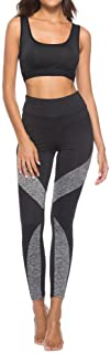 "cinnamou Damenhosen cinnamou Women""s New Stitching Leggings Casual Sports Yoga Pants Pencil Pants,Frauen Neue nähende Strumpfhose lässige Sport Yoga Hose Bleistift Hose"