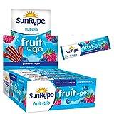 SunRype Fruit Snacks Apple Wildberry Fruit to Go Strips (Case of 55)