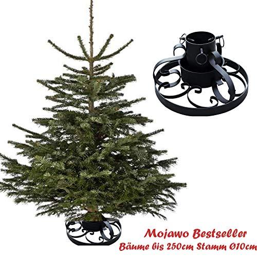 Metall Weihnachtsbaumständer Ø 34cm Christbaumständer Tannenbaumständer Baumständer mit Ornamente