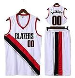 LENLE Un imprescindible para los fans en los juegos de verano, chaquetas de baloncesto ropa 00 # ANTHONY sin mangas chaleco de baloncesto camiseta corta traje de deporte