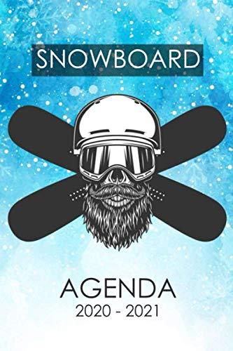 snowboard Agenda 2020 - 2021: Agenda scolaire snowboard surf des neiges snowboarding pour étudiants Collège et Lycée | Journalier et semainier ... 200 pages d'organisations pour et les garçon
