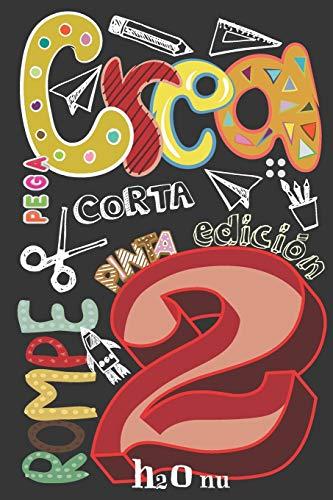Crea Rompe Pinta Corta Construye Raya Pega 2: Deja volar tu creatividad y destroza este diario utilizando toda tu imaginación-Nuevos retos-Rompe este ... en cualquier sitio, creatividad, arte, Craft