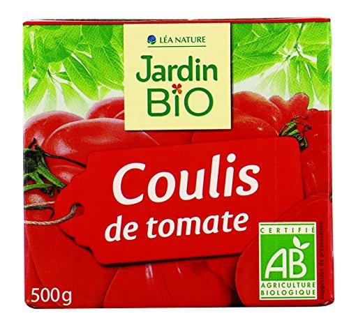Jardin BiO étic Coulis de Tomate sans sel ajouté - 500 g - Lot de 12