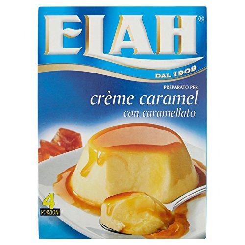 Elah Preparato per Crème Caramel, con Caramellato, 100g