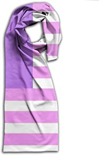 Malaysia Bisexual Pride Flag Scarf Fashion Pattern Printed Can Be Used As Shawl,Headscarf and Wrap for Women Men,Teens