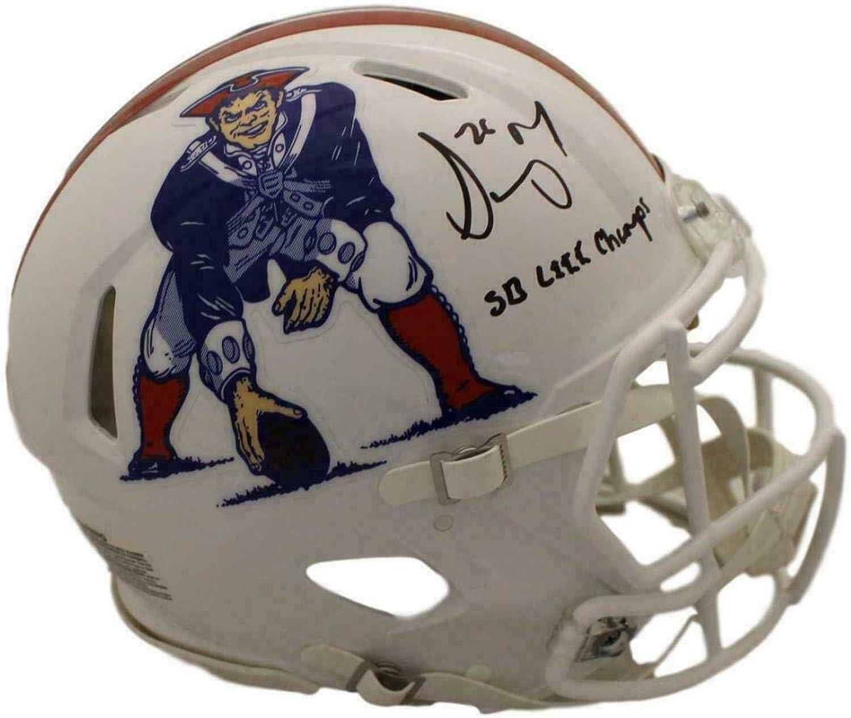 Sony Michel Autographed Helmet  Speed TB Proline Champs BAS 22957  Beckett Authentication  Autographed NFL Helmets