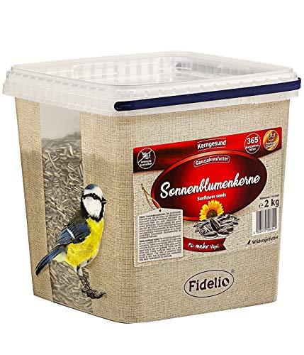 Fidelio - Secchio di Semi di Girasole, 2 kg