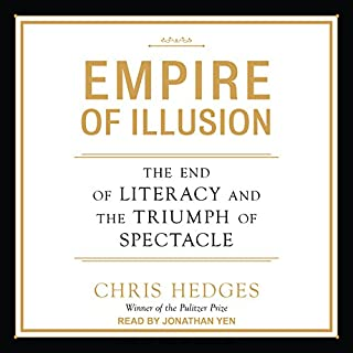 Empire of Illusion audiobook cover art