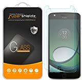 (2 Pack) Supershieldz Designed for Moto Z Play and Moto Z Play Droid Tempered Glass Screen Protector, Anti Scratch, Bubble Free