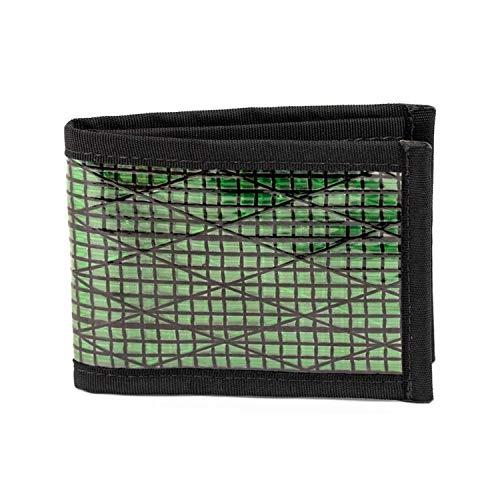 Flowfold Vanguard Slim Front Pocket Bifold Wallet Green