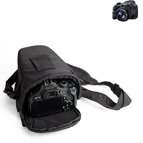 K-S-Trade para Sony Cyber-Shot DSC-HX350: Bolsa per Camera DSLR/SLR/DSLM/Bridge Impermeable Anti-Choque Case con Cubierta De Lluvia Caja De Protección Total Resistente Al Choque Caso Bolso De Viaje