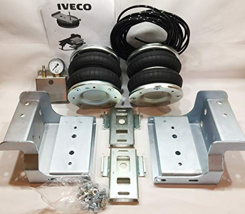 Air Suspension KIT with Compressor for IVEO Daily 35S, 35L single rear wheel 2006-2014 - high load 4000kg