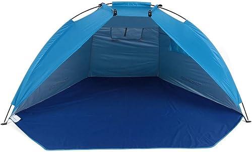 BUYGLI Tente Tente de Plage Ultra-léger Tente Se Pliante en Plein air Hiver pêche sur la Glace Camouflage Camping Tente Partie Soleil Ombre abri étanche