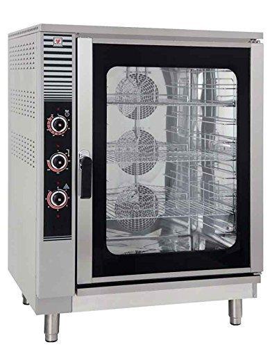 North Pro EF 900Elektro Konvektion Backofen mit 10Regal Kapazität–LxBxH: 925X 825x 1270mm (Made in Griechenland)