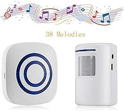 Door Chime,Wireless Business Door Motion Sensor Detector Smart Visitor doorbell Home..