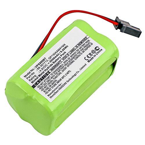 subtel® Batería Premium Compatible con Visonic PowerMaster 10 / Powermax Express, GP130AAM4YMX 2000mAh Pila Repuesto bateria