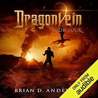 Dragonvein: Book Four audiobook cover art
