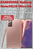 Samsung Galaxy Note20|20 Ultra 5G - Ultimate List of Essential Tips and Tricks (Bonus: 277 Bixby...