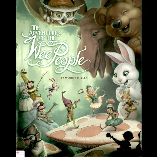 Adventures of the Wee People audiobook cover art