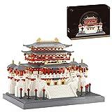 WWEI Arquitectura modular para casa de 2626 piezas, diseño de castillo, juguete de construcción no compatible con Lego