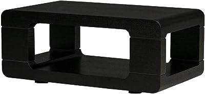センターテーブル 高級感 長方形 モダン ブラック 黒 80 ローテーブル おしゃれ サイドテーブル