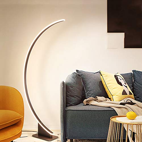 JIAWEI Staande ledlamp - slaapkamer woonkamer traploos dimmen met afstandsbediening voor lezen en lezen kantoor - 52 Watt