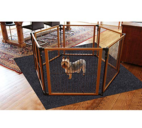 Dog and Puppies Bed Mat Comfortable Soft Crate Pad,Whelp Box Mat Anti-Slip,Pee Mats for Pets,Dog Crates Mats - Absorbent,Waterproof,Reusable,Washable,Protect floo (Dog Crate Mat:36inches x 36inches)
