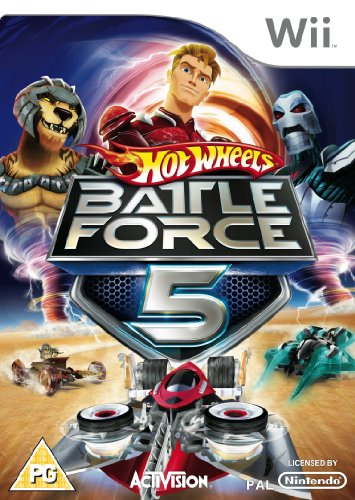 Hot Wheels: Battle Force 5 (Wii) [Importación Inglesa]