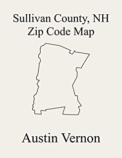 Sullivan County, New Hampshire Zip Code Map: Includes Goshen, Lempster, Newport, Plainfield, Springfield, Sunapee, Washington, Unity, Charlestown, Grantham, ... Acworth, Claremont, Cornish, Croydon, and L
