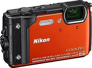 Nikon COOLPIX W300, Orange silicon jacket , Orange (851071) (Australian warranty)