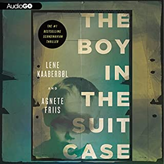 The Boy in the Suitcase audiobook cover art