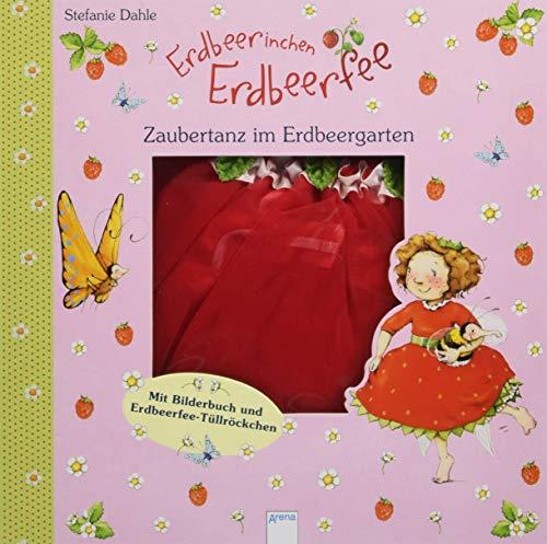 Erdbeerinchen Erdbeerfee. Zaubertanz im Erdbeergarten