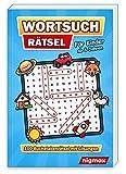 Wortsuchrätsel für Kinder ab 6 Jahren: 100 Buchstabenrätsel mit abwechslungsreichen Themen | Mit Lösungen | 5 Schwierigkeitsstufen | nigmax Rätselbuch
