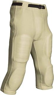 CHAMPRO Pantalones de fútbol para adulto con línea de portería de poliéster y