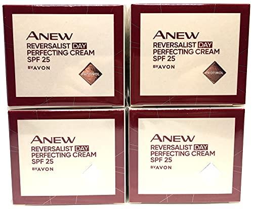 4 x Avon Anew Reversalist Complete Renewal Crème de Jour 50ml (Lot de 4 pièces)