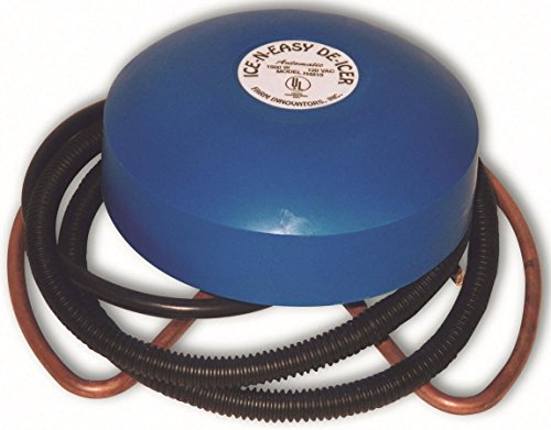Farm Innovators Model H-4815 Economical Floating De-Icer For Metal Tanks, 1,500-Watt