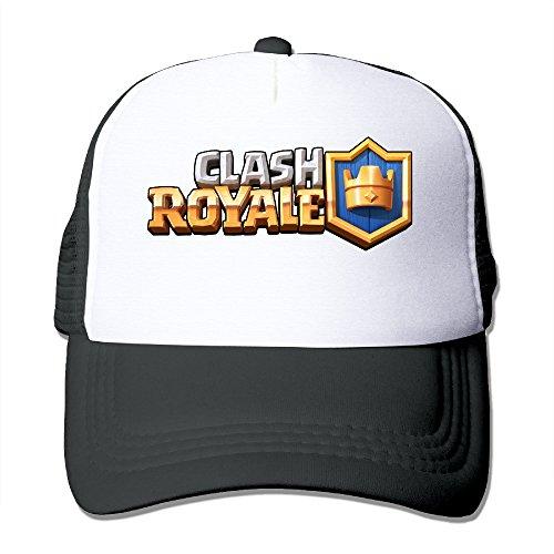Hittings Clash of Clans Clash Royale Adjustable Mesh Trunk Hat for Unisex Black