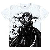 Gumstyle Code Geass C.C. Anime Cosplay Natsu Short Sleeve T Shirt Adult Costume Tee