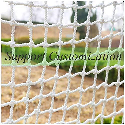 WILLQ Schutznetz, Seil Treppenschutz Pet Mesh Net Geländer Netz Schutzblock für Gate Kids Lacrosse Baseball Hockey Softball,1x 4m(3.3 * 13.1ft)