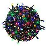 Citra 200 LEDs 45M Black/White Wire Fairy String Tree Twinkle Lights 8 Modes